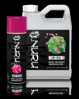 Wet Lubricants - NURU - A massage gel made with natural ingredients.