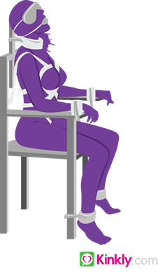 Chair Bondage Sex Position