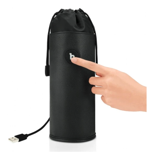 b-Vibe UV Sterilizer Pouch with finger pressing button
