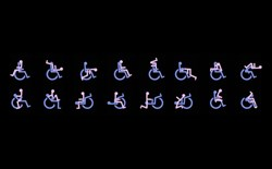 Stick images of couples in wheelchair sex positions