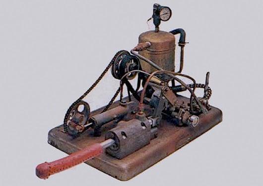 Steam powered sex machine