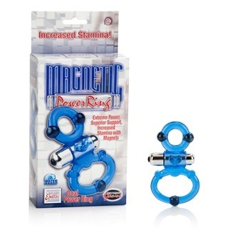California Exotic Magnetic Power Ring - Dual Power Ring - Erection enhancement ring.