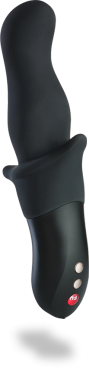 FUN FACTORY STRONIC ZWEI - A vibrator for men, with a curved tip that mimics thrusting motions.