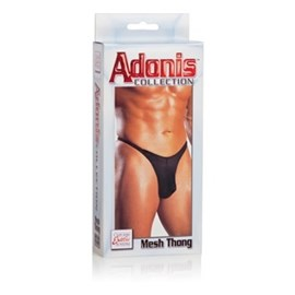 California Exotic Adonis Mesh Thongs - Mens sensual attire.