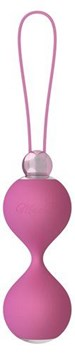 Mae B Lovely Vibes Elegant Soft Touch Love Balls - Pretty and discreet kegel balls for women.