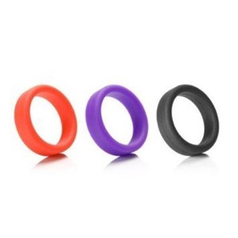 Tantus Super Soft C-Rings - This super-soft cock ring is designed for comfort and safety.