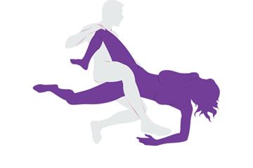Try It Tonight: Scissor Sex Position