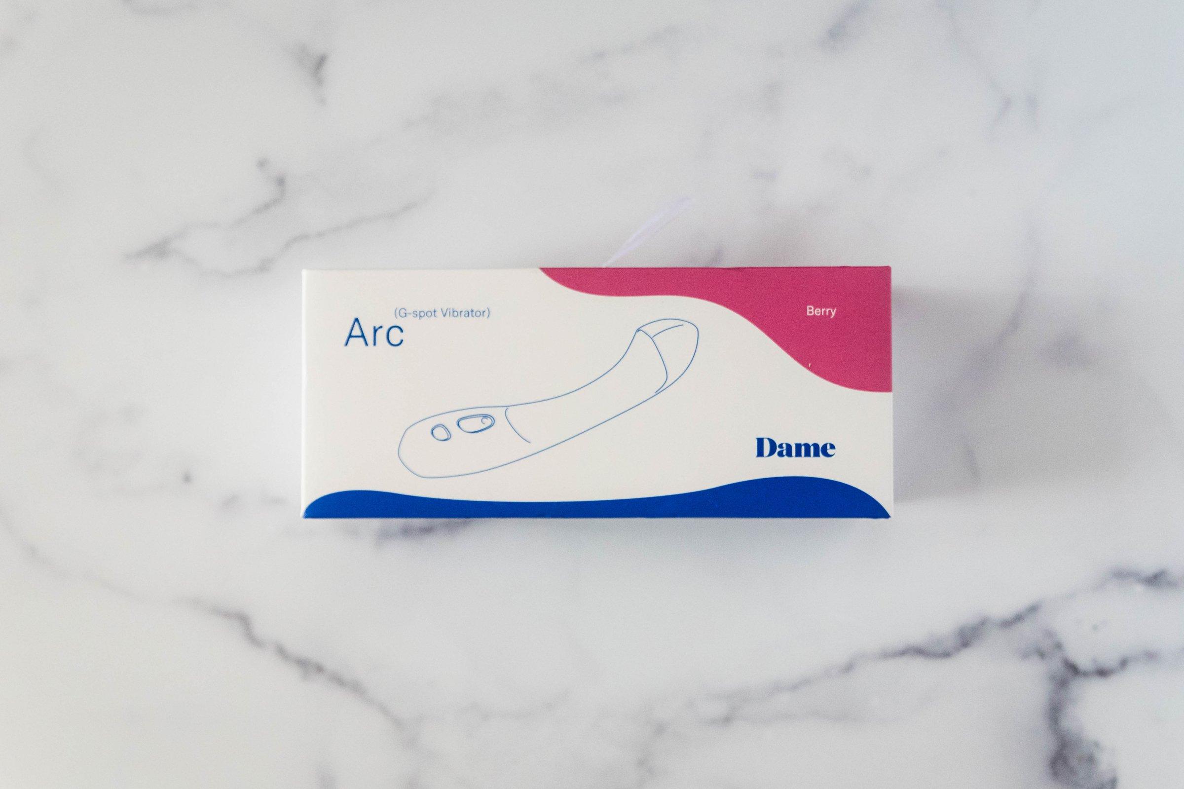 Dame Arc Packaging Box