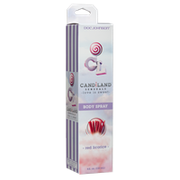 CANDiLAND SENSUALS - Body Spray - Red Licorice - A deliciously-flavored body spray with a water-based formula