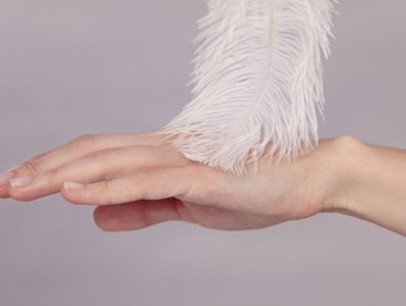 Feather touch hand