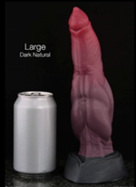 The Gryphon - The Gryphon is a dildo produced by Bad Dragon.