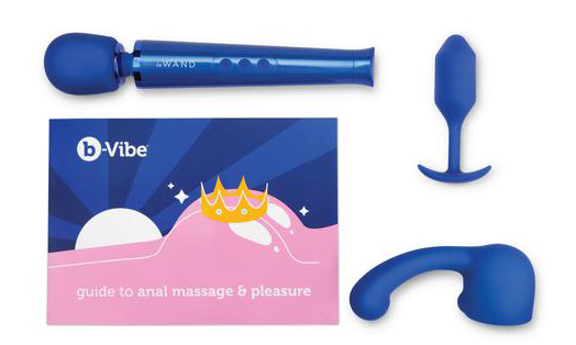 anal massage guide with LeWand Petite Wand Massager, Curve Attachment and Snug Plug 2