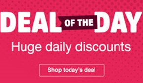 Deal of the Day - Mega Discounts!