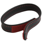 Doc Johnson COCK & BALL STRAPS - LEATHER - VELCRO CLOSURE - 
