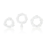 California Exotic Magic C-Rings - Set of 3 erection enhancement rings.