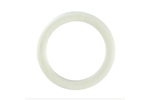 California Exotic Rubber Ring White Medium - Rubber adornment rings.