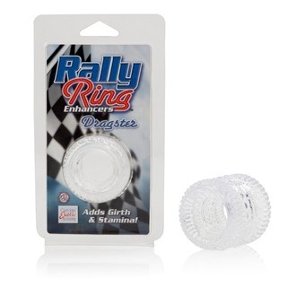 California Exotic Rally Ring Enhancers Dragster Rings - Erection enhancement ring.