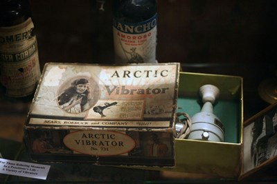 historic Arctic Vibrator from Sears, Roebuck and Company