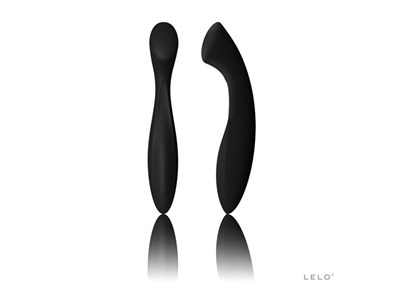 LELO Ella - A silicone dildo, curved for G-spot stimulation.