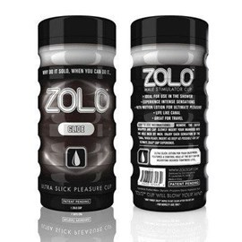 Zolo Glide Cup - An ergonomically-shaped masturbator for intense sensations