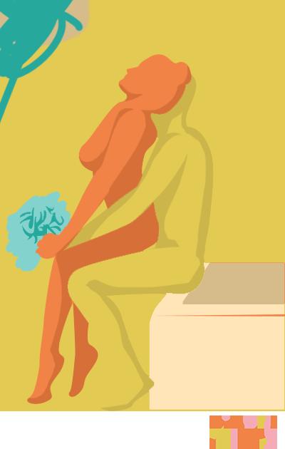 Wet Lap Dance sex position
