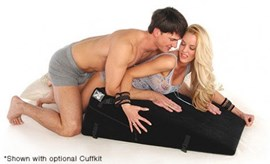 Liberator Black Label Ramp (Plus Size) - A pleasurably-shaped sex pillow for individuals weighing above 300lbs