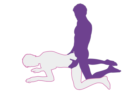 diagram of the backdoor sex position