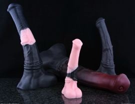 Chance the Stallion Unflared - Chance the Stallion Unflared is a dildo produced by Bad Dragon.
