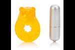 California Exotic Micro Vibe Arouser Power Tiger - Vibrating erection enhancement ring.
