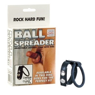 California Exotic Ball Spreader Large - Enhancement ring with dual support rings.