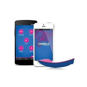 OhMiBod blueMotion NEX 1 - A Bluetooth-enabled wearable vibrator.