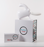 Bubble Love Dilly - The Bubble Love Dilly is a silicone dildo attachment designed for use with the Bubble Love massager.