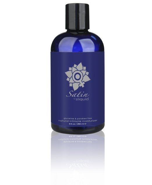 Sliquid Satin - A water-based intimate moisturizer for daily use.