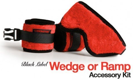 Liberator Cuff Kit for Black Label Wedge or Ramp - An easy-to-use bondage kit designed to immobilize your partner