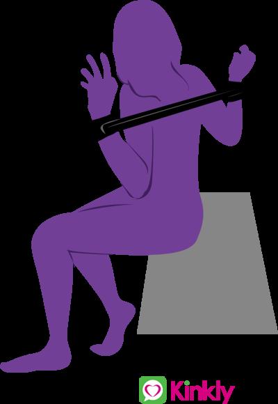 Behind the Back Spreader Bar Sex Position