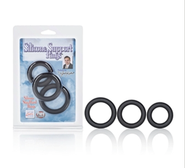 California Exotic Dr. Joel Kaplan Silicone Prolong Rings - Silicone support rings.