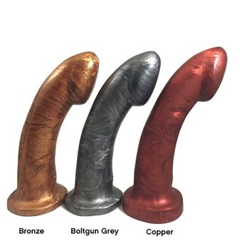 Godemich Ambit - A a beautiful - and beautifully made - dildo for G-spot or prostate stimulation.