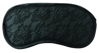 Sportsheets Midnight Lace Blindfold - A simple, sexy blindfold to heighten all your other senses.