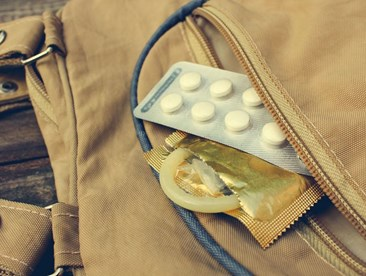 Is taking a few birth control pills at once the same as taking the morning after pill?