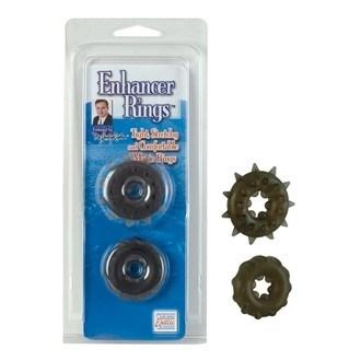 California Exotic Dr. Joel Kaplan Enhancer Rings - Erection enhancement rings.