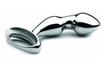 nJoy Pfun Plug - An ergonomic, stainless steel plug designed to deliver a firm, precise prostate massage.