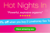 Buy 2 Lovehoney Toys, Get 20% Off