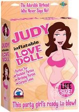 Pipedream Products Judy Blow Up Doll - A flexible and lifelike sex doll with realistic features