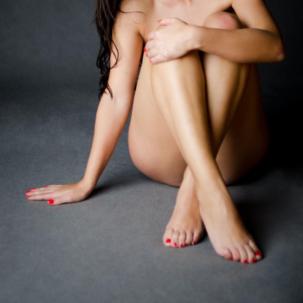 Muslim women sitting legs together naked big