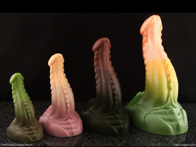 Pretzel the Swamp Wyrm - Pretzel the Swamp Wyrm is a dildo produced by Bad Dragon.