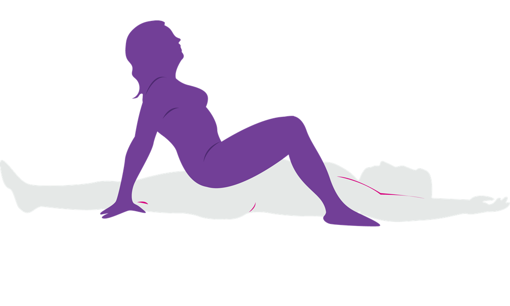 Position sex couple silhouette