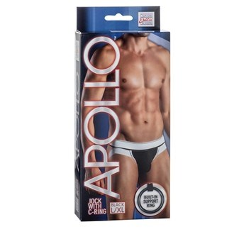 California Exotic Apollo Jock with C-Ring - L/XL - Mens sensual attire.