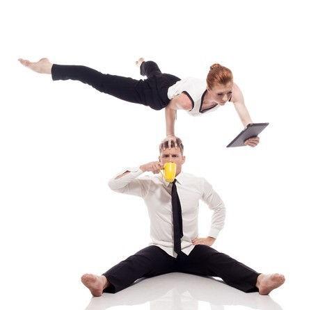 Acrobatic sex positions