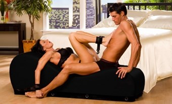 Liberator Black Label Esse Chaise - A pleasurably shaped chaise for multiple erotic positions