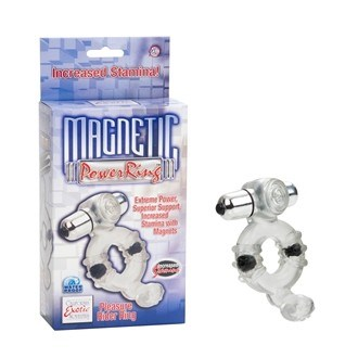 California Exotic Magnetic Power Ring - Pleasure Rider - Erection enhancement ring.